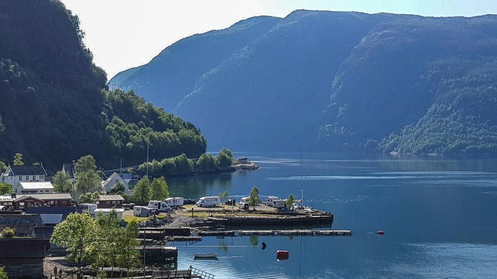 Sundal Camping in Norwegen ist ein Traumplatz