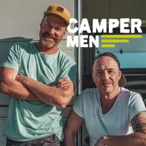 Campermen Cover (500 Pixel) mit Gerd Blank und Henning Pommeé