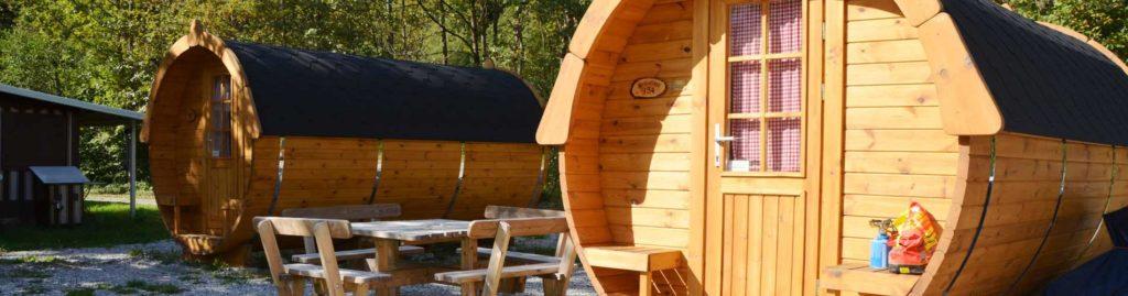 Camping-Fass an der Zugspitze